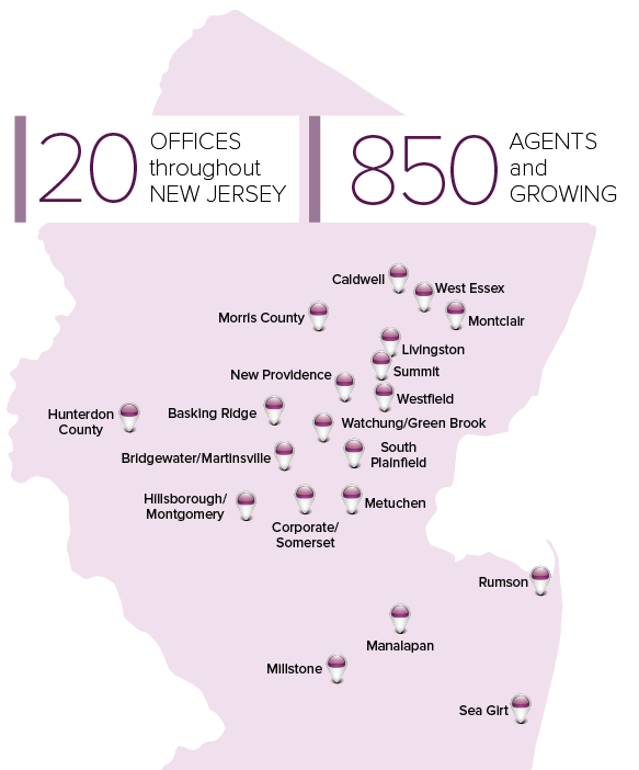 Berkshire Hathaway HomeServices New Jersey Properties BHHSNJ Offices